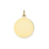 Gouden hanger met foto rond- 23mm_